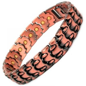 DARIUS Mens Copper Magnetic Bracelet