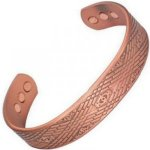 MPS Mens Copper Magnetic Bangle / Bracelet with Six magnets