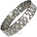 IonTopia� ALGOL WIDE Titanium Magnetic Bracelet for Men