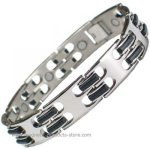 IonTopia� EQUATOR Magnetic Titanium Bracelet for Men