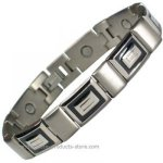 IonTopia� ANTARES M Titanium Magnetic bracelet for Men