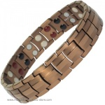 MPS� EUROPA Copper Tone Titanium & Germanium Magnetic Bracelet