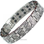 IonTopia� MERCURY Titanium Magnetic Bracelet - Double Row Magnets