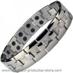 IonTopia� MARS Titanium Magnetic Bracelet for Men