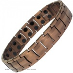 MPS� EUROPA Copper Tone Titanium Magnetic Therapy Bracelet
