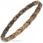 MPS�  ALIOTH CO Ladies Titanium Magnetic Bracelet