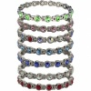 MPS® NORTHIA Titanium Magnetic Bracelet for Women with SWAROVSKI® Sky Blue Crystals