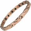 MPS® ADANA Rose Gold PL Ladies Stainless Steel Magnetic Therapy Bracelet