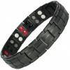MPS® HOMERIE BLACK Titanium & Germanium Magnetic Bracelet