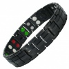 MPS® EUROPE UNICORN Taming, 5 in 1 Elements BLACK Titanium Magnetic Bracelet