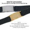 IonTopia® HI-PRIME Limited Editions Magnetic Bracelet with Black Silicone Strap and Gold Tag