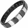 MPS® SPECIAL EDITION Expanding Stainless Steel Magnetic Bracelet 1409