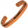 MPS ACHILLES Polished finish Copper Heavy Magnetic Therapy Bangle