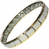 MPS® PYTHON Narrow Expanding Magnetic Bracelet with golden reams for Women