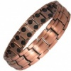 MPS® APOLLO DOUBLE STRENGTH Mens Copper Rich Magnetic Therapy Bracelet