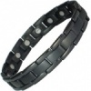 MPS® POLARIS Jet-Black Titanium Magnetic Bracelet