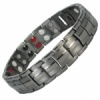 MPS® EUROPE GUNMETAL Titanium & Germanium Magnetic Bracelet