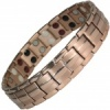 MPS® EUROPE Rose Gold Plated Titanium & Germanium Magnetic Bracelet