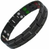 MPS® UBAO 5 in 1 Elements BLACK Titanium Magnetic Bracelet