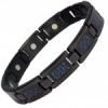 MPS® ECOHO Titanium Magnetic Bracelet with BLUE Carbon Insert