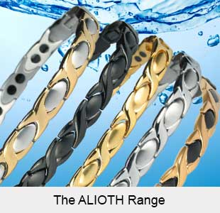 Alioth Range of magnetic bracelets