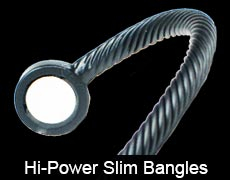 Hi power slim magnetic bracelets