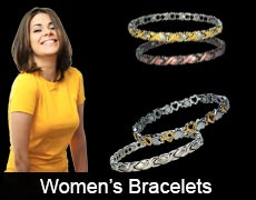 Magnetic bracelets for women