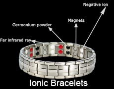 Four elements magnetic bracelets