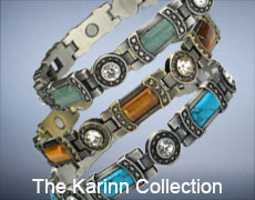 The Karinn magnetic bracelets for women