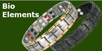 Bio elements magnetic bracelets