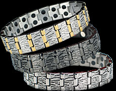 The Mercury magnetic bracelets