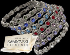 The Swarovski magnetic bracelets