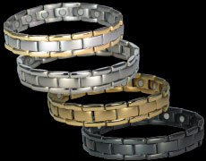 The Polaris magnetic bracelets