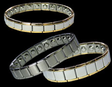 The Python expanding magnetic bracelets