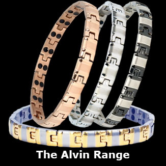 Alvin titanium magnetic bracelets collection for women
