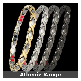 Athenie titanium magnetic bracelets for women