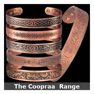 Coopraa copper magnetic bracelets bangle style