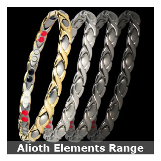 Alioth Elements titanium magnetic bracelets for women