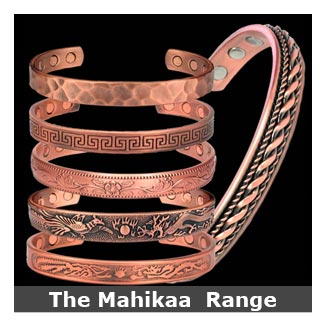 Mahikaa copper magnetic bracelets bangle style