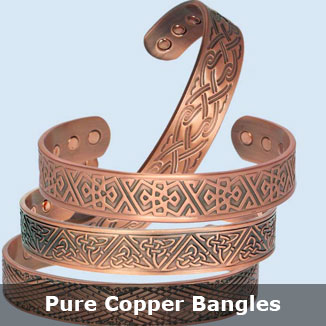 copper magnetic bracelets bangles