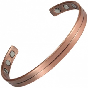 MPS® MAHIKAA NESHER Copper Magnetic Therapy Bangle