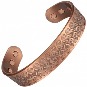 MPS ARADAA MAREPALIE Pure Copper Magnetic Bracelet Bangle Style