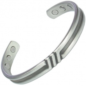 MPS Triple Bar Metal Gun Magnetic Bangle