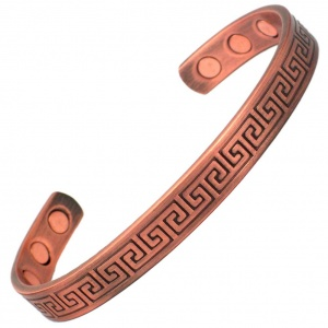 MPS MAYA Copper Greek Magnetic Bracelet