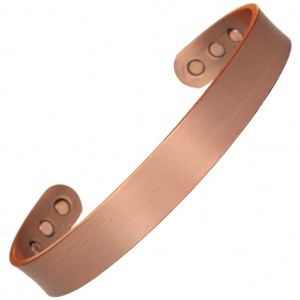 MPS MAHONEY Flat Pure Copper Heavy Magnetic Therapy Bangle