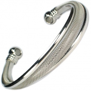 MPS™ TALIA Ladies Magnetic Bracelet Twisted Bangle Style