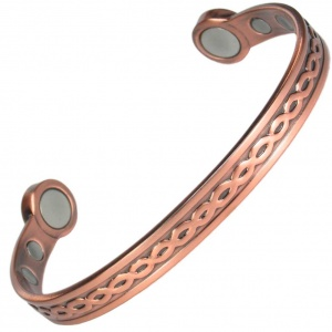 MPS® OORJA Mega-Strength Pure Copper Chain Magnetic Bracelet