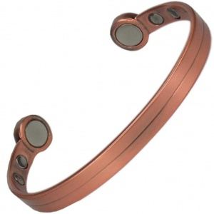 MPS® HERO Mega-Strength Pure Copper Split Shade Magnetic Bracelet