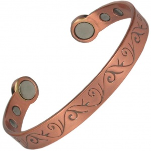 MPS® HERO Mega-Strength Indian Pure Copper Magnetic Bracelet