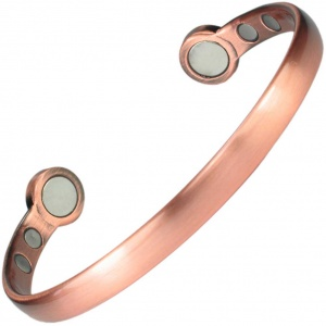 MPS® HERO Mega-Strength Pure Copper Magnetic Bracelet Cuff Style